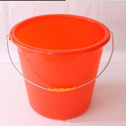 国产 塑料加厚水桶/红色塑料桶